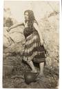 Real Photograph of Maori Girl. - 69661 - Postcard