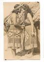 Real Photograph of Hongi Maori Salutation. - 69667 - Postcard