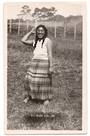 Real Photograph by Nash of Maori Girl. - 69674 - Postcard