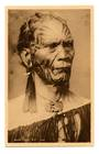Real Photograph by J D Kemp of Maori Chief. - 69689 - Postcard