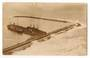 Real Photograph of Breakwater Napier. 1912. - 69781 - Postcard