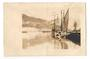 Real Photograph of Scow at Gisborne.1907. - 69974 - Postcard
