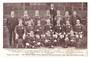 Postcard of the 1905 Welsh team. - 69998 - Postcard