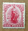 NEW ZEALAND 1898 1d Universal redrawn with diagonal shading. - 70 - UHM