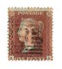GREAT BRITAIN 1854 1d Red-Brown. Papaer very blued. Perf 14. - 70028 - FU
