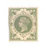 GREAT BRITAIN 1887 Victoria 1st Definitive 1/- Dull Green. Scsrce. Hinge remains. - 70052 - Mint