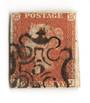 GREAT BRITAIN 1841 1d Red Maltese Obliterator. Number 5. - 70230 - FU