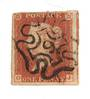 GREAT BRITAIN 1841 1d Red Maltese Obliterator. Number 9. - 70234 - FU