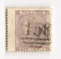 GREAT BRITAIN 1862 6d Lilac Left wing margin. Good perfs. Light postmark 158 in oval bars. Letters IDDI - 70239 - FU