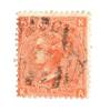 GREAT BRITAIN 1865 4d Vermillion. Plate 9. Centred South West. Light cancel  Nice copy. - 70247 - Used