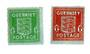 GUERNSEY 1941 Definitives. Set of 2. Blued paper. - 70309 - UHM