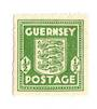 GUERNSEY 1941 Definitive ½d Olive Green. - 70316 - LHM