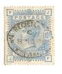 GREAT BRITAIN 1883 10/- Pale Ultramarine. Well centred. Postmark REGISTERED oval strike clear of the profile. Good perfs. Letter