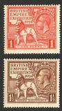 GREAT BRITAIN 1924 Wembly. Set of 2. - 70327 - UHM