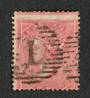 GREAT BRITAIN 1855 4d Rose-Carmine. Startlingly off centre to the south. - 70383 - Used