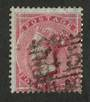 GREAT BRITAIN 1855 4d Carmine. Paper slightly blued. Centred south east. Good perfs. Good colour. Postmark fair. Sound copy. - 7