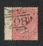 GREAT BRITAIN 1856 4d pale carmine.Wing margin. Couple of nibbled perfs.  Attractive 498 cancel. - 70402 - FU
