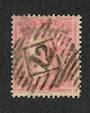 GREAT BRITAIN 1857 4d rose-carmine.Used Good perfs.  Postmark 12 in diamond. Heavy. Reasonably centred. - 70404 - Used