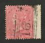 GREAT BRITAIN 1857 4d rose. Wing margin. Original true shade. Good perfs. A great example.  SG +125%. - 70405 - VFU