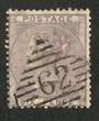 GREAT BRITAIN 1856 6d Deep Lilac. Centred south and west. Postmark 62 Nice colour. - 70407 - FU