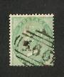 GREAT BRITAIN 1856 1/- Green. Good perfs. Postmark 566. Centred south and east. Nice colour.. - 70410 - FU