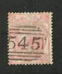 GREAT BRITAIN 1862 3d Pale Carmine-Rose Slightly off centre. Surface rubs detract.  Good perfs. Tone spots. - 70413 - Used