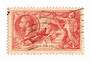 GREAT BRITAIN 1918 Geo 5th Definitive 5/- Rose-Red. Bradbury Wilkinson print. - 70439 - FU
