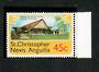 ST KITTS NEVIS ANGUILLA 1978 Definitive 45c Golf Course. Watermark inverted. - 70979 - UHM