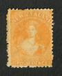 NEW ZEALAND 1862 Full Face Queen 4d Yellow. - 71300 - MNG