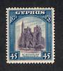 CYPRUS 1928 50th Anniversary of British Rule 45pi Violet and Blue. - 71685 - UHM
