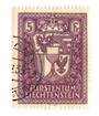 LIECHENSTEIN 1933 Definitive 5 fr Dull Purple. - 73779 - VFU