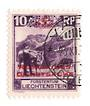 LIECHENSTEIN 1932 Official 10 rappen Deep Reddish Lilac. Perf 10.5. - 73781 - VFU