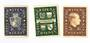 LIECHENSTEIN 1939 Definitives. Set of 3. Very lightly hinged. - 73794 - LHM