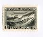 LIECHENSTEIN 1931 Graf Zeppelin over the Alps 1fr Blackish Green. - 73799 - LHM