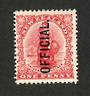 NEW ZEALAND 1907 1d Universal. Diagonal shading. - 74 - UHM