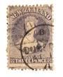 NEW ZEALAND 1862 Full Face Queen 3d Lilac. Perforated. Dunedin A class cancel. Cancel crosses the face. Nice copy. - 74013 - Use