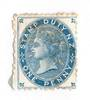 NEW ZEALAND 1882 Postal Fiscal 1d Blue in mint no gum condition. Catalogued $NZ390.00. Probably a cleaned fiscal. - 74016 - MNG