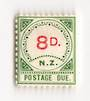 NEW ZEALAND 1899 Postage Due 8d Green and Carmine. - 74035 - LHM