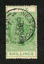 NEW ZEALAND 1882 Victoria 1st Long Type Postal Fiscal 5/- Green. - 74046 - Mint