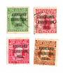 NEW ZEALAND 1913 Auckland Exhibition. Set of 4. - 74057 - FU