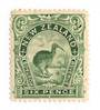 NEW ZEALAND 1898 Pictorial 6d Green. London Print. - 74099 - LHM