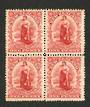 NEW ZEALAND 1901 1d Universal. Block of 4. Perf 16. - 74123 - UHM