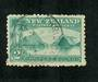 NEW ZEALAND 1898 Pictorial 2/- Blue-Green. First Local Issue. - 74673 - VFU
