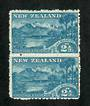 NEW ZEALAND 1898 Pictorial 2½d Wakatipu. Second local issue. Cowan paper. Perf 11. Nice vertical pair. - 74840 - UHM
