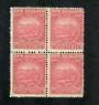 NEW ZEALAND 1898 Pictorial 4d Rose. Block of 4. Never hinged. - 74854 - UHM