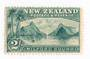 NEW ZEALAND 1898 Pictorial 2/- Grey-Green. London Print. Hinge evidence barely visible. Slight gum crease. - 74865 - LHM