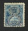 NEW ZEALAND 1898 Pictorial 8d Blue. First Local Issue on Unwatermarked Paper. Perf 11. CP E16b. - 74871 - Mint