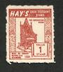 NEW ZEALAND 1954 Hays Coupon Coronation Chair. - 74965 - Cinderellas