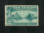 NEW ZEALAND 1898 Pictorial 2/- Blue-Green. London Print. Light hinge remains. - 75011 - Mint
