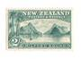 NEW ZEALAND 1898 Pictorial 2/- Blue-Green. London Print. Very lightly hinged. - 75012 - LHM